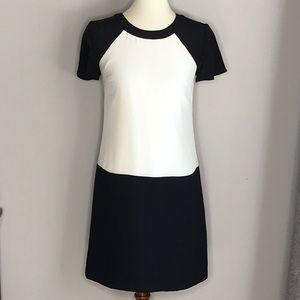 Banana Republic Ivory Black Mini Dress Size 0